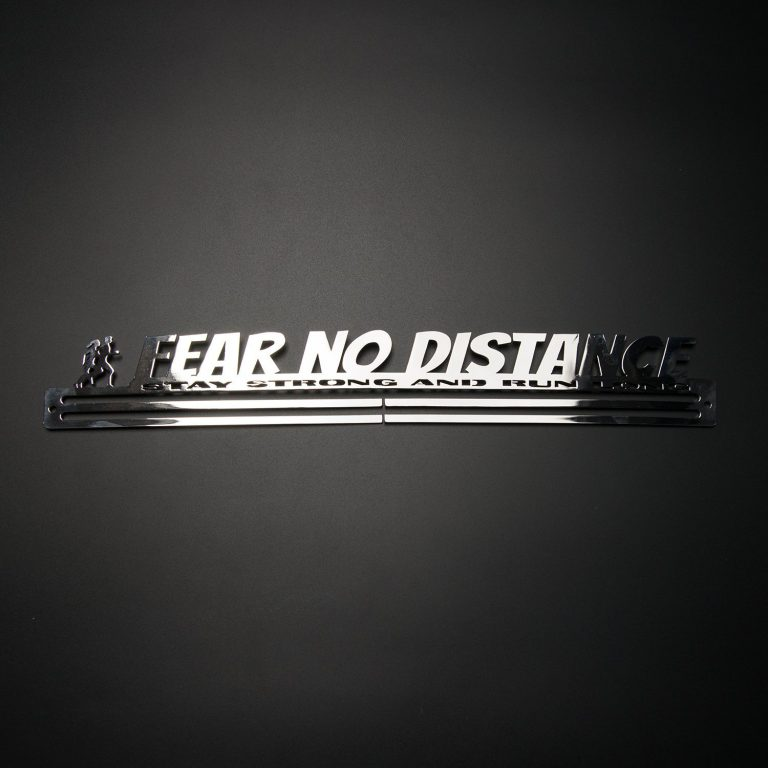 Fear No Distance - Dark Background